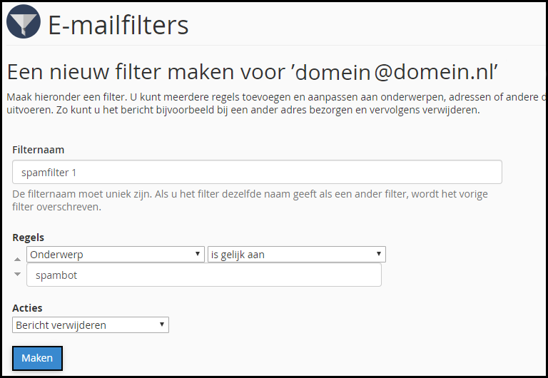 emailfilter-stap-5
